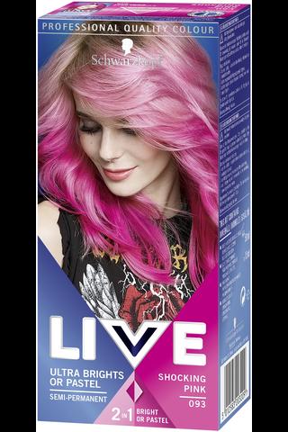 Schwarzkopf LIVE Ultra Brights 93 Shocking Pink hiusväri