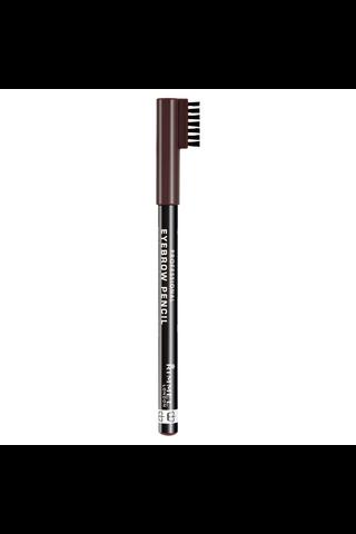 Rimmel 1,4g Professional Eyebrow Pencil kulmakynä 001 Dark Brown