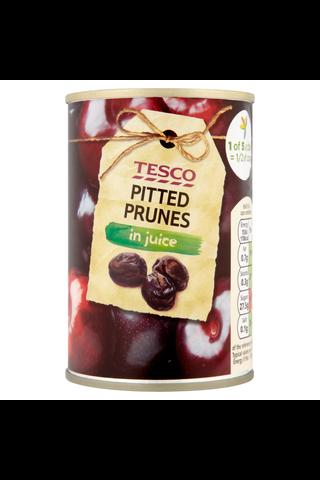 Tesco 170g Pitted Prunes in Juice kivettömiä luumuja mehussa