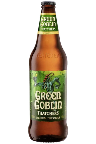 Thatchers Green Goblin Medium Dry Cider 5% 0,50l siideripullo
