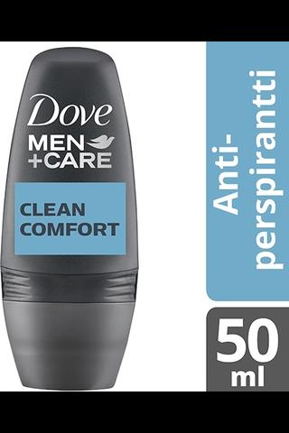 Dove 50ml Men+Care Clean Comfort roll on