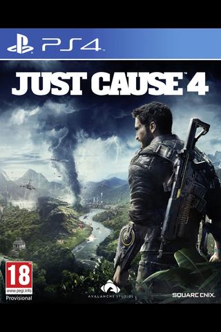 PlayStation 4 peli Just Cause 4