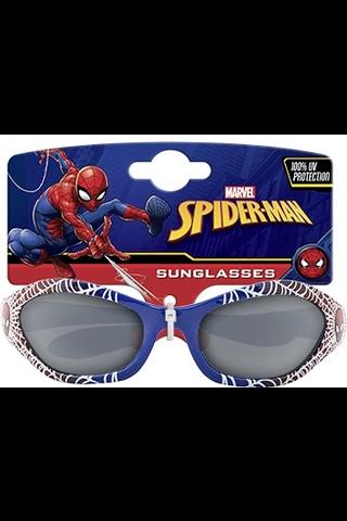Lasten lisenssi aurinkolasit Marvel Comics Hämähäkkimies sininen