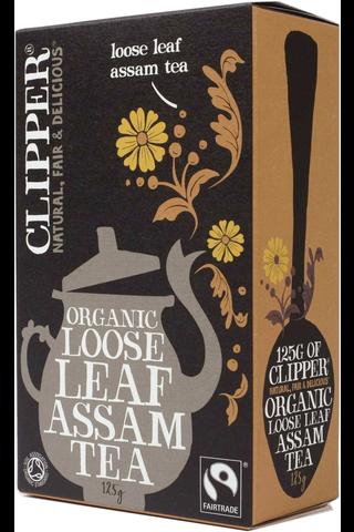 Clipper 125g Assam tee 125g luomu