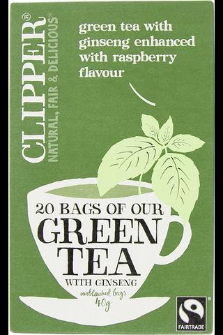 Ginseng Vihreä Tee Luomu