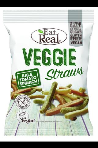 Eat Real Kasvis pilli - Lehtikaali, Pinaatti & Tomaatti 45 g