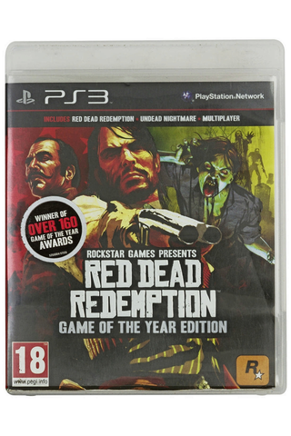 PlayStation 3 Red Dead Redemption - Game of the Year Edition