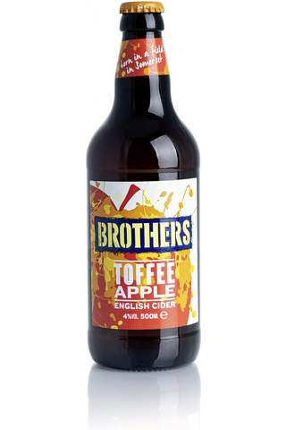 Brothers omenapäärynä Toffee Siideri 4,0% 50cl plo