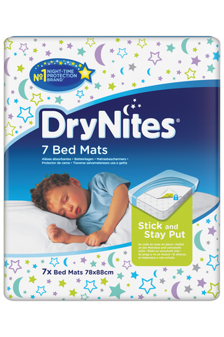 Huggies 7kpl Drynites BedMats sängynsuoja