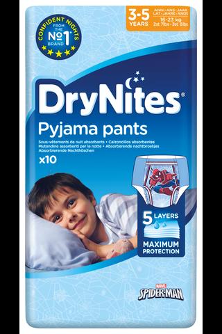 DryNites 10kpl Yövaippa poika 3-5v