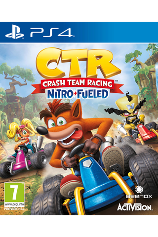 PlayStation 4 Crash Team Racing: Nitro-Fueled