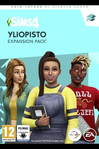 PC peli The Sims 4 Yliopisto (lisäosa)