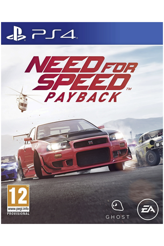 PlayStation 4 peli Need for Speed: Paypack