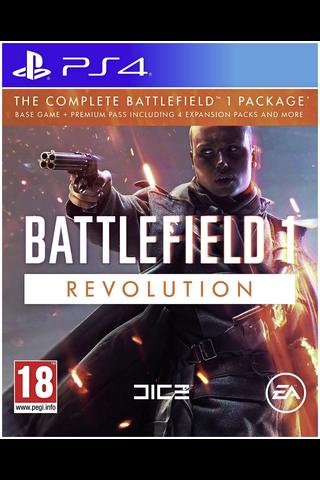PlayStation 4 peli Battlefield 1 Revolution