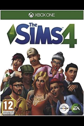 Xbox One peli The Sims 4