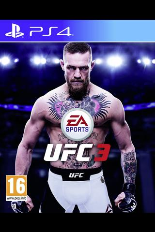 PlayStation 4 peli UFC 3