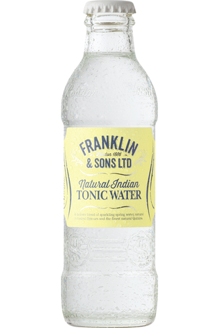 Natural Indian Tonic Water 200ml tonic-pullo