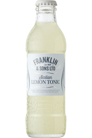Franklin & Sons Sicilian Lemon Tonic 200ml pullo