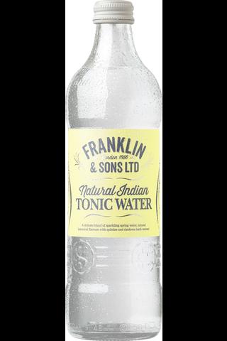 Natural Indian Tonic Water 500ml tonic-pullo