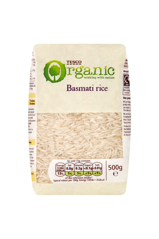 Tesco Organic 500g basmatiriisi luomu