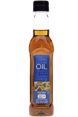 Tesco 250g Toasted Sesame Oil öljy