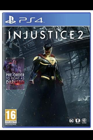 PlayStation 4 peli Injustice 2