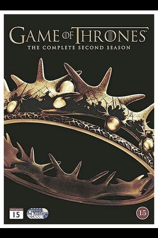 DVD Game of Thrones - kausi 2