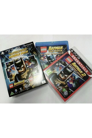 PlayStation 3 Lego Batman Videogame & The Movie double pack