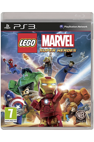 PlayStation 3 Lego Marvel Super Heroes