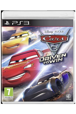 PlayStation 3 Cars 3: Driven to Win