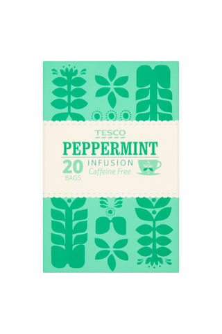 Tesco 30g Peppermint Infusion Caffeine Free tee 20ps