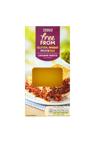 Tesco 250g FreeFrom Lasagne Sheets