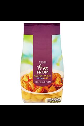Tesco Free From 500g gluteeniton conchiglie kuviopasta