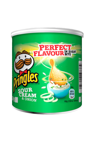 Pringles Small Can Sour Cream & Onion 40g
