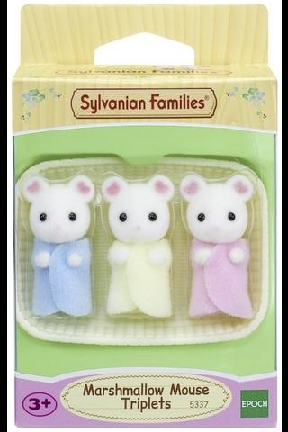 Sylvanian families vaahtokarkkihiirikolmoset