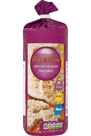 Tesco Free From 130 g riisikakku, gluteeniton