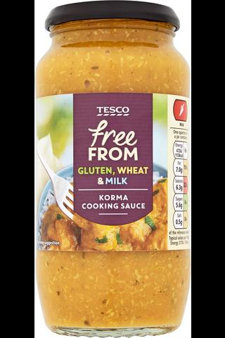 Tesco Free From 500g Korma kastike gluteeniton maidoton
