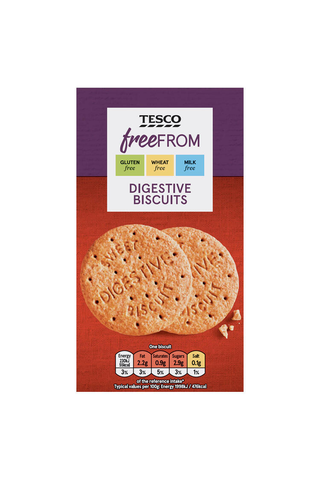 Tesco Free From 160g gluteeniton digestivekeksi