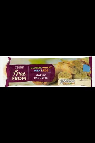 Tesco Free From 170g Garlic Baguette gluteeniton valkosipulipatonki pakaste