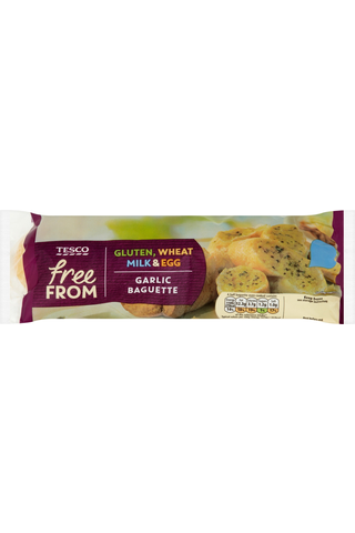 Tesco Free From 170g Garlic Baguette valkosipulipatonki pakaste gluteeniton