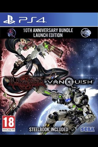 Playstation 4 Bayonetta And Vanquish 10th Anniv. Bund