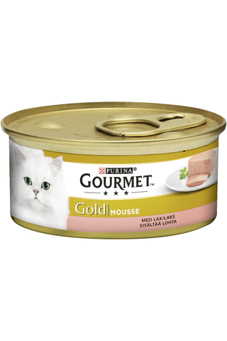 Gourmet 85g Gold Lohi Mousse kissanruoka
