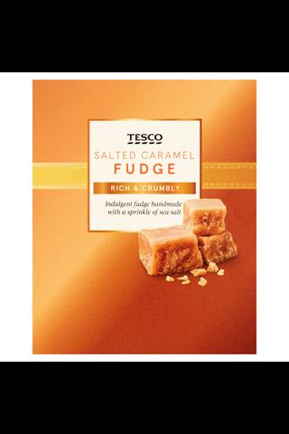 Tesco suolainen kinuski fudge 150g