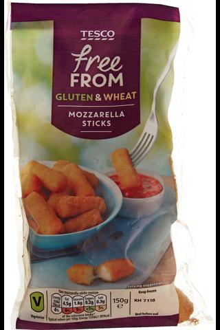 Gluteenittomat paneroidut mozzarellatikut 150 g