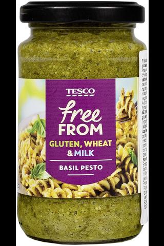 Tesco free from basil pesto