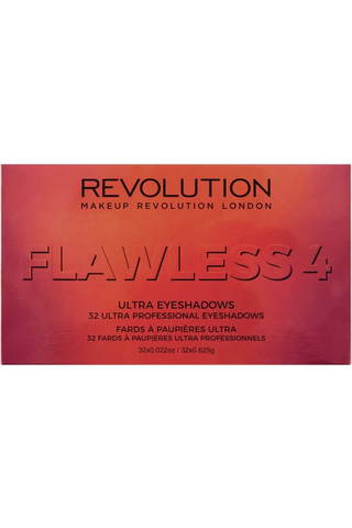 Makeup Revolution Ultra 32 Eyeshadow Palette Flawless 4 luomiväripaletti