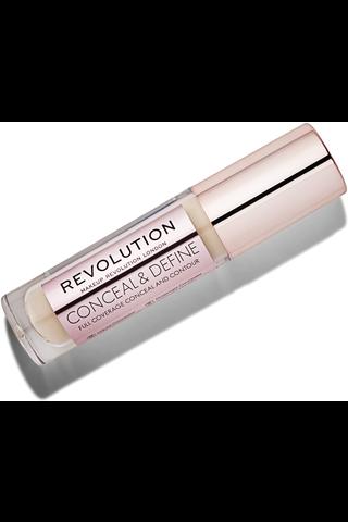 Makeup Revolution Conceal and Define Concealer - C6 Peite- ja korostussävy