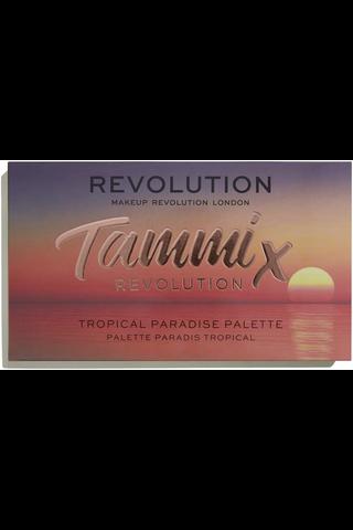 Makeup Revolution x Tammi Tropical Paradise Palette luomiväri