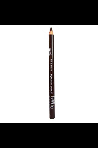 Miss Beauty London Eyebrow Pencil 03 Brunette kulmakynä