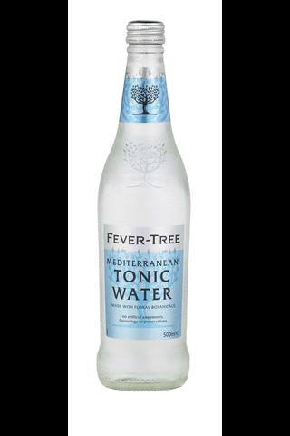 Fever-Tree 500ml Mediterranean Tonic Watervesi pullo